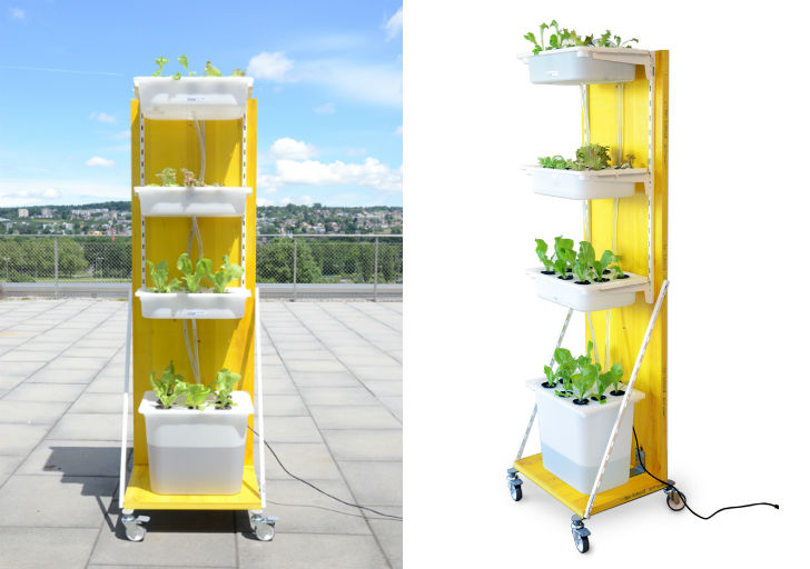 Elegant hydroponic solutions penguinsix for Mobile trofast